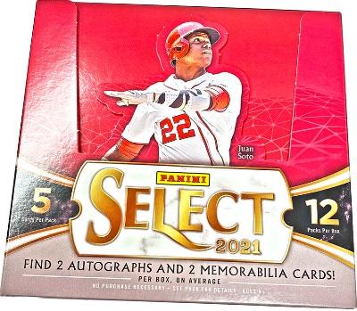 2021 Panini Select Baseball
