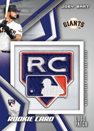 2021 Rookie Card Patches Joey Bart MOCK UP
