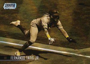 Base Card Chrome Variation Gold Minted Fernando Tatis Jr MOCK UP