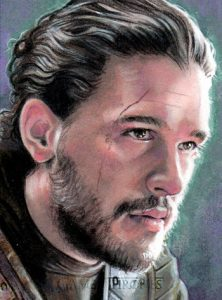 Character Sketch Jon Snow MOCK UP