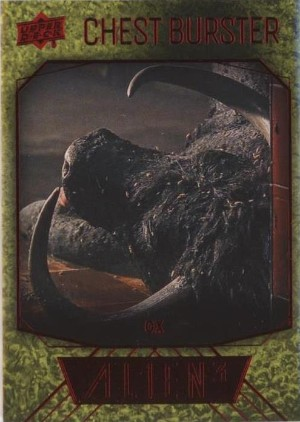 Chest Burster Rip Card Oxen