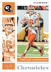Chronicles Draft Picks Base Trevor Lawrence MOCK UP