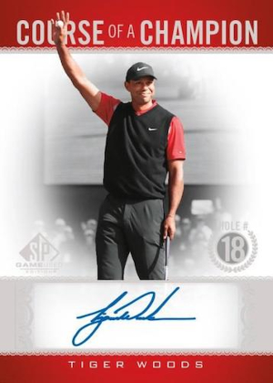 Course of a Champion Auto Tiger Woods MOCK UP