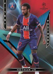 Finest Footwork Red Refractor Neymar Jr MOCK UP
