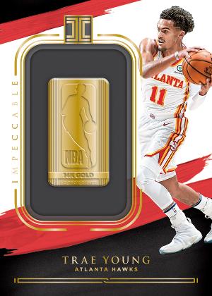 Gold NBA Logo Trae Young MOCK UP