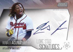 Lone Star Signatures Ronald Acuna Jr MOCK UP