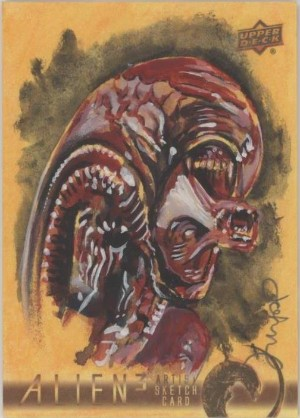 Sketch Card John Haun