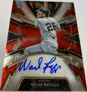 Sparks Signatures Wade Boggs