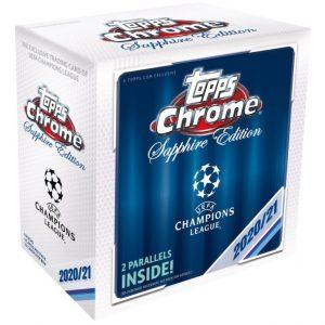 2020-21 Topps Chrome Sapphire Edition UEFA Champions League Soccer
