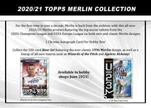 2020-21 Topps Merlin Collection Chrome UEFA