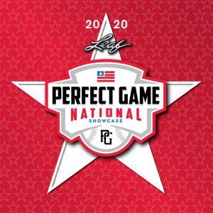 2020 Leaf Perfect Game National Showcase Baseball
