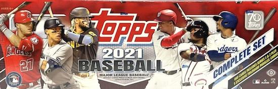 2021 Topps Baseball Complete Set