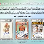 2021 Topps Clearly Authentic Baseball