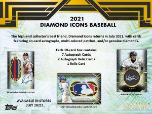 2021 Topps Diamond Icons Baseball