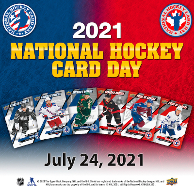 2021 Upper Deck National Hockey Card Day