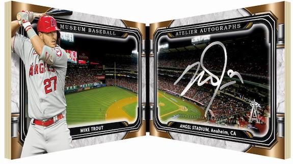 Atelier Auto Book Mike Trout MOCK UP