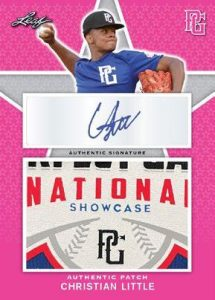 Auto Patch Pink Christian Little MOCK UP