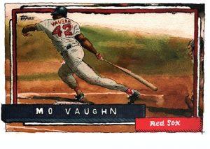 Base Mo Vaughn MOCK UP