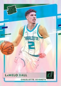 Base Rated Rookie Green LaMelo Ball MOCK UP