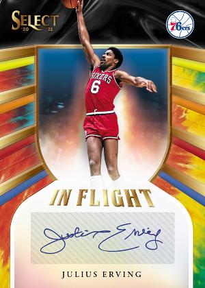 In Flight Signatures Tie-Dye Julius Erving MOCK UP