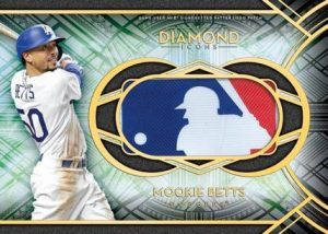 MLB Silhouetted Batter Logo Patch Mookie Betts MOCK UP