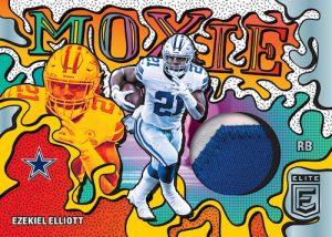 Moxie Jersey Relics Ezekiel Elliott MOCK UP