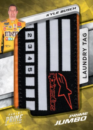 Prime Jumbo Laundry Tag Kyle Busch MOCK UP