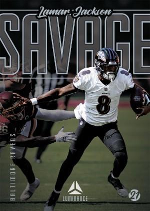 Savage Lamar Jackson MOCK UP