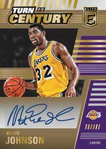 Turn of the Century Signatures Gold Magic Johnson MOCK UP