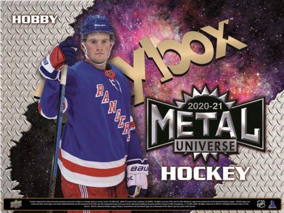 2020-21 Skybox Metal Universe Hockey