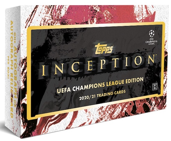 2020-21 Topps Inception UEFA Champions League