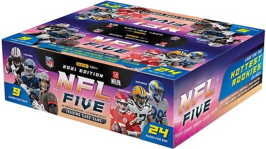 2021 Panini NFL Five Trading Card Game