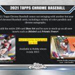 2021 Topps Chrome Baseball
