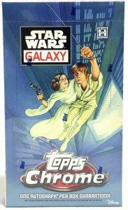 2021 Topps Chrome Star Wars Galaxy