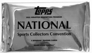 2021 Topps NSCC Bowman National Convention Baseball