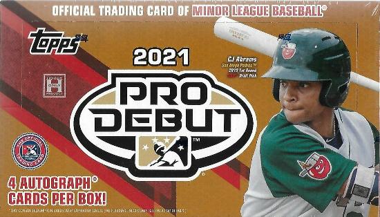2021 Topps Pro Debut Baseball