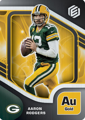 Base Gold Aaron Rodgers MOCK UP
