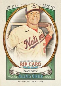 Boxloader Rip Card Juan Soto MOCK UP
