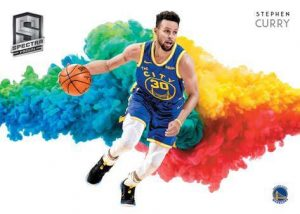 Color Blast Stephen Curry MOCK UP