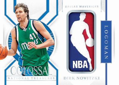 Colossal Logoman Dirk Nowitzki MOCK UP