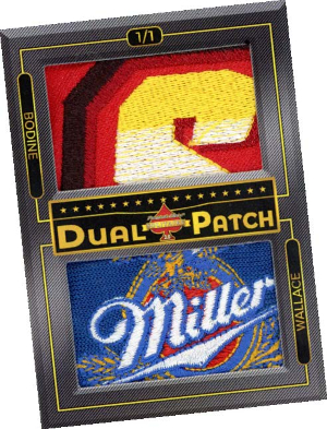 Dual Patch Todd Bodine, Rusty Wallace MOCK UP