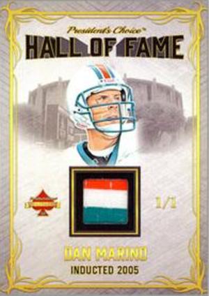 Hall of Fame Relics Dan Marino MOCK UP