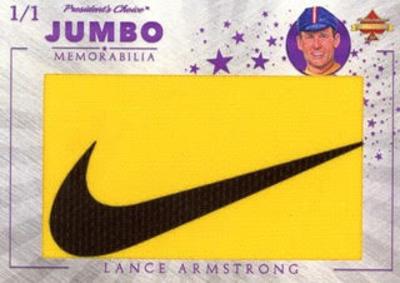 Jumbo Memorabilia Lance Armstrong MOCK UP