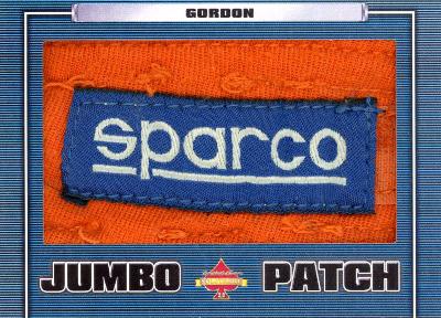 Jumbo Patch Jeff Gordon MOCK UP