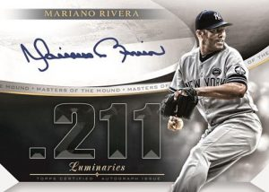 Masters of the Mound Auto Mariano Rivera MOCK UP