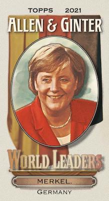 Mini World Leaders Angela Merkel MOCK UP
