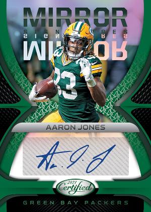 Mirror Signatures Green Aaron Jones MOCK UP