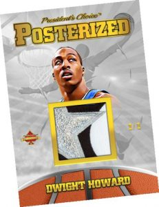 Posterized Gold Dwight Howard MOCK UP