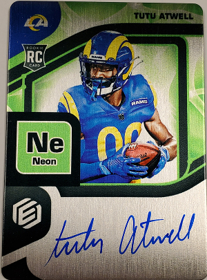 RPS Rookie Steel Signatures Neon Tutu Atwell MOCK UP
