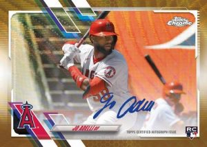 Rookie Auto Gold Wave Refractor Jo Adell MOCK UP